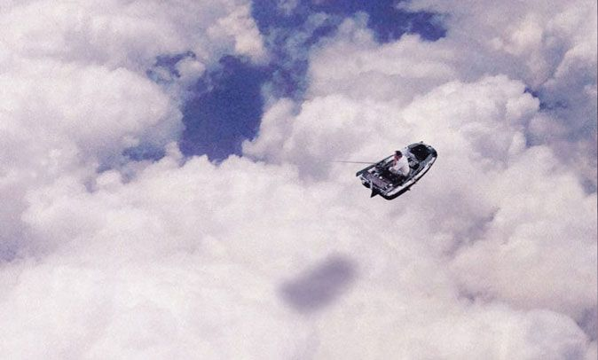 Boat on Clouds
