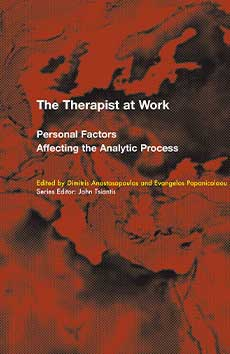 Cover -The Therapist at Work Personal Factors Affecting the Analytic Process