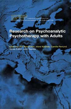 Cover -Research on Psychoanalytic Psychotherapy with Adults