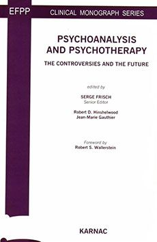Cover -Psychoanalysis and Psychotherapy The Controversies and the Future