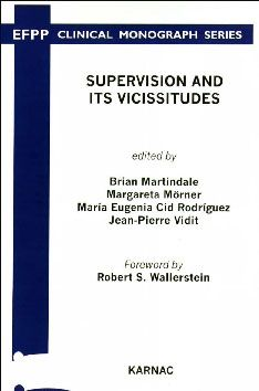 Cover - Supervision and its Vicissitudes