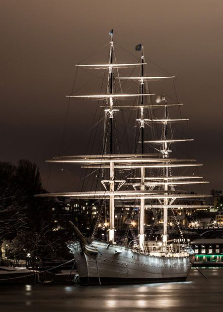 Sweden Sailboat Stockholm
