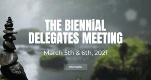 THE BIENNIAL DELEGATES MEETING