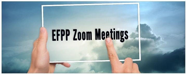 EFPP Zoom Meetings: Exchange between Training Institutes